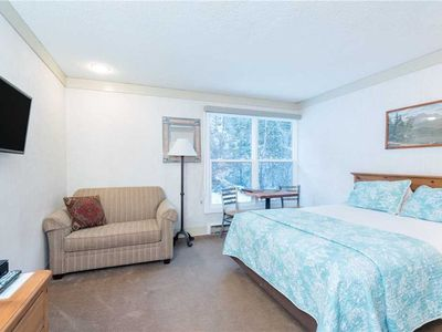 Photo for Hotel Room With Kitchenette, Seating Area at Mountainside Inn