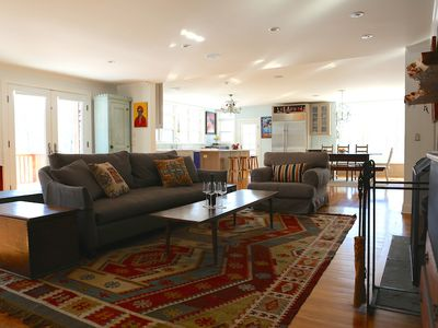 Photo for Luxe Family Retreat: Contemporary All-Season Living W Mountain Views In Lenox!