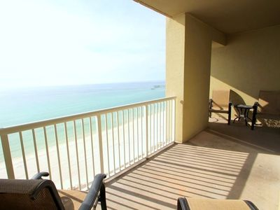 Photo for Grand Panama 1304 - Tower I, 2 Bedrooms, Sleeps 8, Beachfront, Wi-Fi, Pool, Pet-Friendly