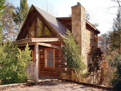 Photo for Private getaway for anniversary or honeymoon close to downtown Pigeon Forge