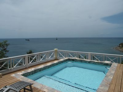 Private Pool with view of ocean