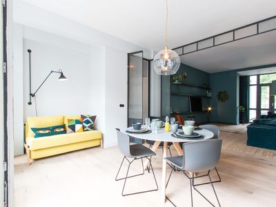 Photo for Design Apartment 4sleep incl. outside terrace, TOPlocated 5 mins to Canals &Park