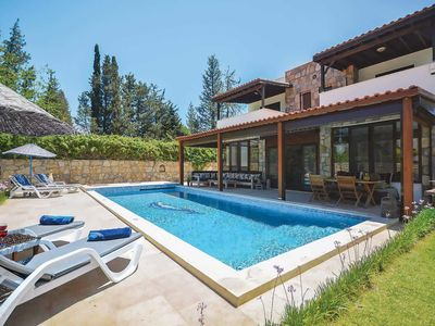 Photo for 4 bedroom Villa, sleeps 8 in Bitez with Pool, Air Con and WiFi