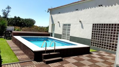Photo for VILLA WITH PRIVATE POOL, PARQUING TERRACE AND GARDEN, 40 KM FROM BARCELONA.