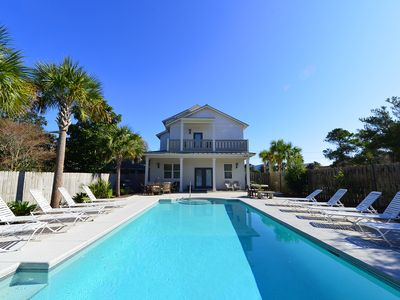 Photo for Island Pearl | Game Room | Heated Private Pool | Beach Views | Weddings | Luxury