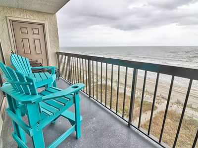Photo for WaterPointe1 Unit 804 - Direct Ocean Front - Amazing View 3br/2ba