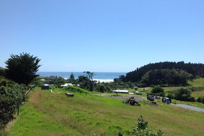View from house looking onto Ocean Beach