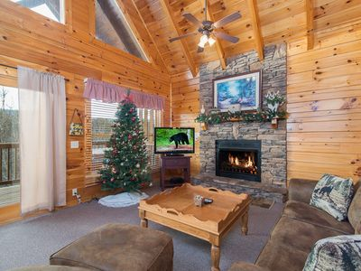 Photo for 1BR Cabin Vacation Rental in Pigeon Forge, Wears Valley, Tennessee