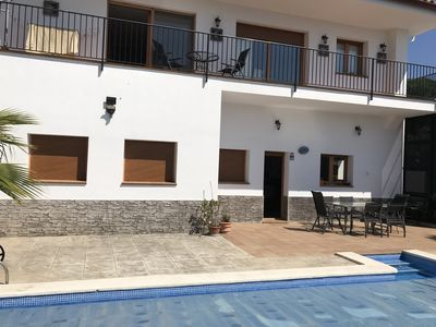 Photo for THE CASA OF HEIDI WITH SWIMMING POOL AND SEA VIEW