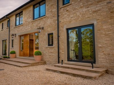 Photo for Stunning Cotswold Contemporary House set in the vineyards of Woodchester Valley