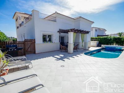 Photo for Villa with three bedrooms and Private Pool - La Torre Golf Resort CA Murciavacations