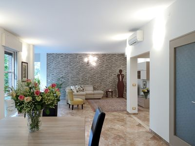 Photo for PADUA OLD TOWN  Luxury & wide apartment TORTORA 6 people 3BD 2 BTH WIFI A/C