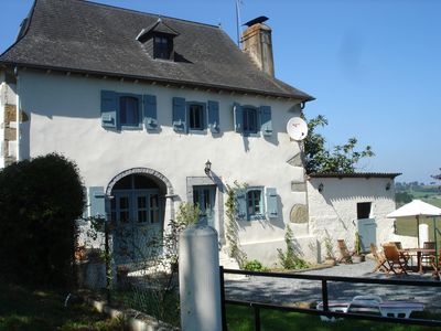 Photo for Pretty French Farmhouse with pool in beautiful quiet location restaurants nearby