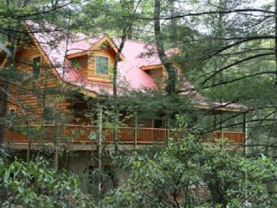 Photo for Cabin*3 Master Bedrooms*Hot Tub*WiFi*Game Room*Book For Spring & Summer Season