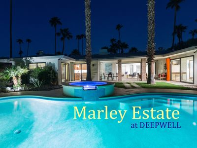 Photo for Marley Estate at Deepwell - Very Private Palm Springs Pool Home!