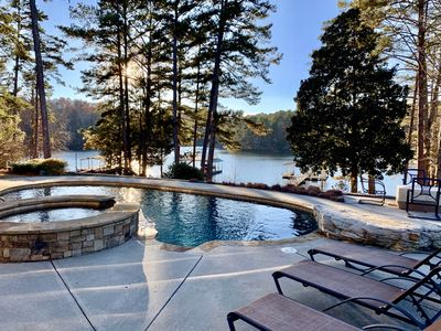 Photo for Luxurious estate in the foothills of North Georgia on beautiful Lake Lanier