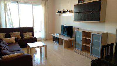 Photo for Apartment overlooking the garden and pool. Free WIFI.