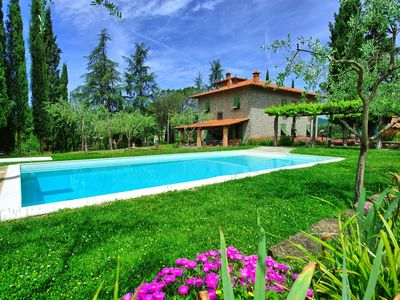 Photo for CHARMING VILLA in Subbiano with Pool & Wifi. **Up to $-680 USD off - limited time** We respond 24/7