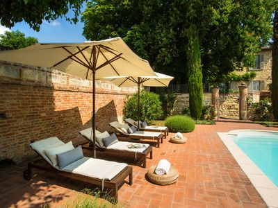 Photo for Ideal for families, with private pool and WiFi, with view and garden