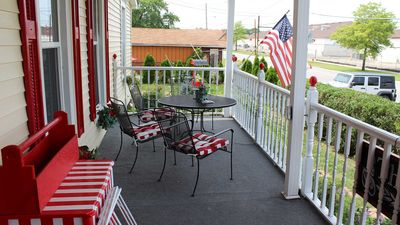 Photo for Studio Apt with full kitchen next to The Lighthouse Outlet Mall in Town area