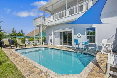 Private Heated Pool and Pool Deck