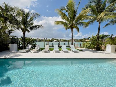 Photo for NoBeVIP: Luxury BEACH HOUSE with Heated pool and walk to the beach!