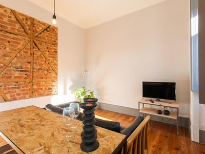 Photo for Spacious Urban Cozzy apartment in Bairro Alto with WiFi.