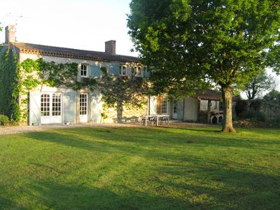 Photo for Country house with private pool, sleeps 10, quiet and rest, Mache