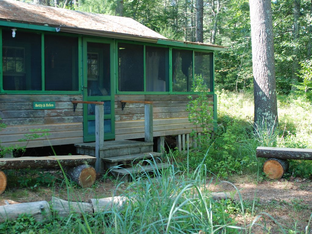 Classic Fish Camp Two Cabins On Long Pond Room Rental