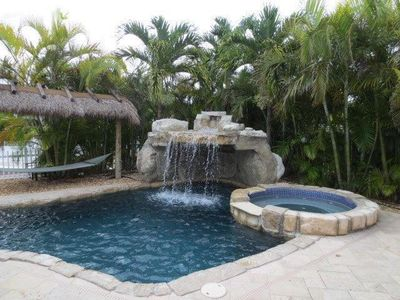 Photo for Waterfront Pool home with Quick Access to Gulf