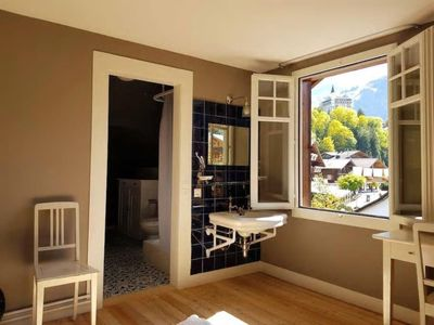Photo for Perfect Flat for 4 on the Promenade Gstaad Center
