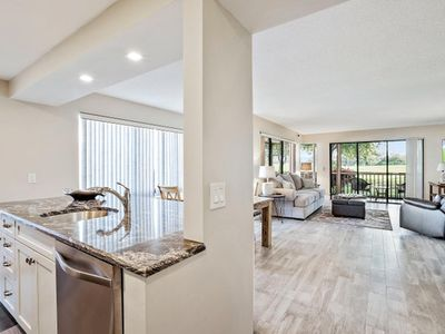 Photo for Private Entrance PGA National 2BR Residence with  Golf Course Views