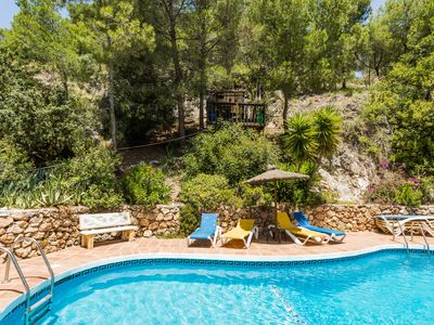 Photo for Sinca Los Pinos - secluded villa with private pool