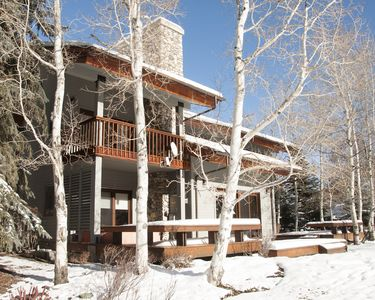 Photo for Luxury Home on the Warm Springs River blocks from Warm Springs Ski Lodge