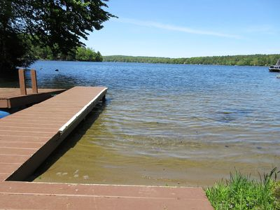 Dock and water patio