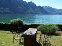 This is a very spacious apartment, in a very small lake front village, with grea ...