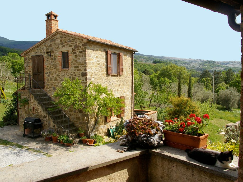 Tuscany Cottage Fantastic Views Unspoilt Homeaway