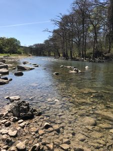 Photo for Property has a Large Rocky Beach on the Banks of the Guadalupe