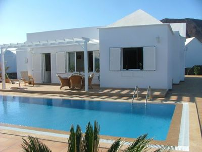 Photo for Fabulous villa on Playa Real close to the sea with stunning views