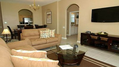 Photo for Luxury on a budget - Windsor Hills Resort - Beautiful Spacious 3 Beds 2 Baths Condo - 3 Miles To Disney