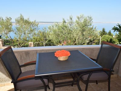Photo for Apartments Dokoza-with panoramic sea veiw (40344-A1) - Starigrad Paklenica