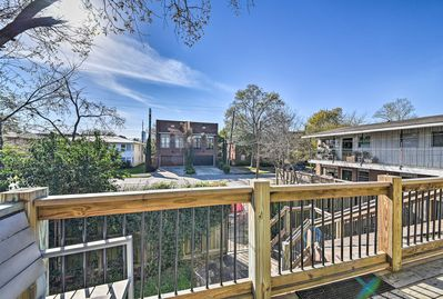 Escape to Houston and stay at this updated vacation rental apartment.