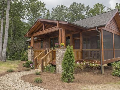 Photo for Beautiful, pet friendly Tiny House located just minutes from Downtown Cashiers!