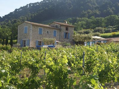 Photo for It lies on a hillside,splendid panoramic view of the vineyards with swimmingpool