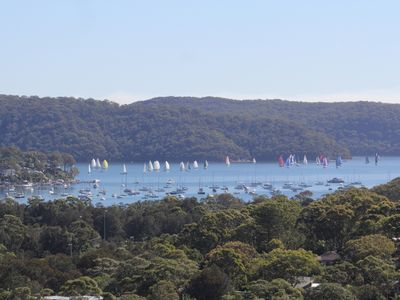 Photo for Quiet retreat with Pittwater views