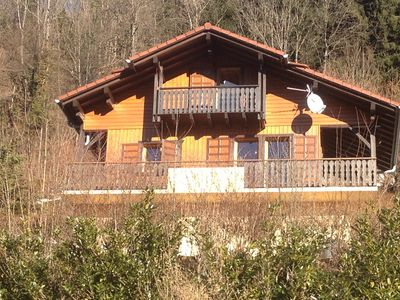 Photo for Chalet With 3 Bedrooms Near Samoens. Spectacular Views.