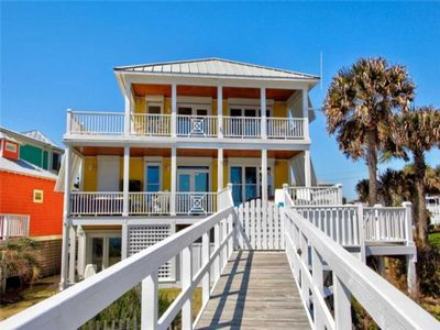 Photo for Private HOT TUB!!!  LUXURIOUS OCEANFRONT 4 BEDROOM, 3.5 BATH single family home located in Kure Beach,The Sea Watch Community!