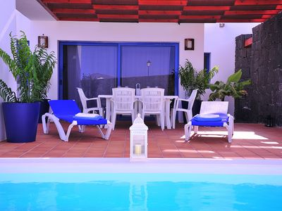 Photo for Anika Villa with private heated pool, wifi, air conditioning, etc ...