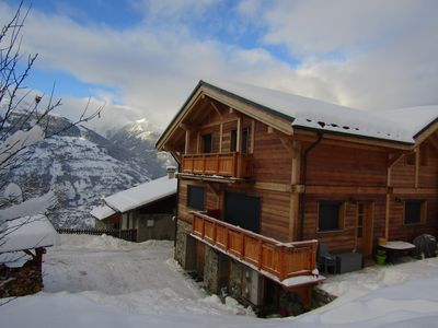 Photo for 4BR Chalet Vacation Rental in La Plagne Tarentaise, Auvergne-Rhône-Alpes