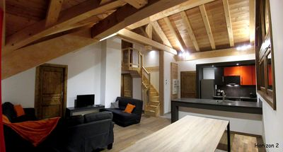 Photo for Chalet l'Horizon, Apartment H2: Rental 10 people